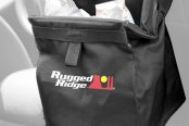 "Rugged Ridge® - Removable Seat Back Trash Bin (With ""Rugged Ridge"" Logo)"