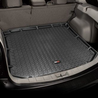 Image may not reflect your exact vehicle! Rugged Ridge® - All Terrain Cargo Liners, Black