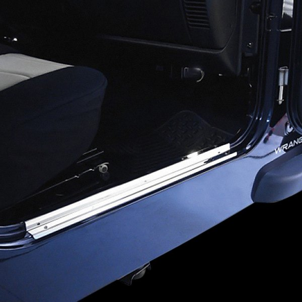 Rugged Ridge® - Stainless Steel Door Entry Guards