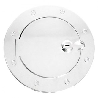 Rugged Ridge® - Polished Stainless Steel Locking Gas Cap Cover