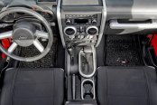 Rugged Ridge® - Interior Trim Accent Kit, Brushed Silver