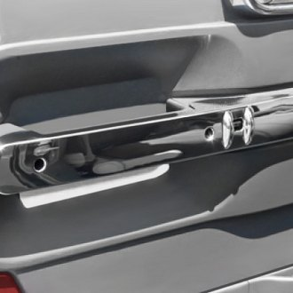 Rugged Ridge® - Front Door Handle Trim Chrome