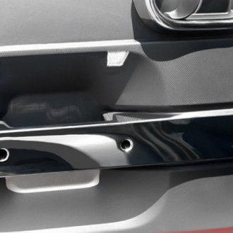 Rugged Ridge® - Rear Door Handle Trim Chrome