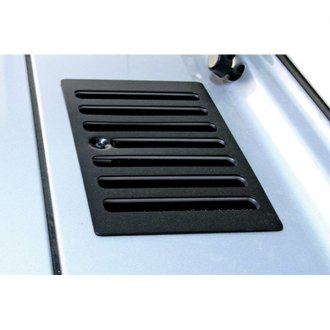 Rugged Ridge® - Cowl Vent Cover, Black