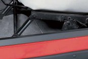 Rugged Ridge® - Door Black Entry Guards