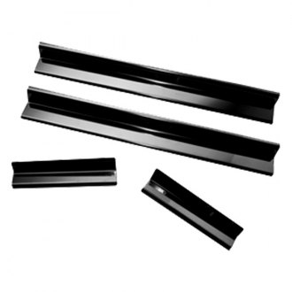 Rugged Ridge® - Door Entry Guard Set Black