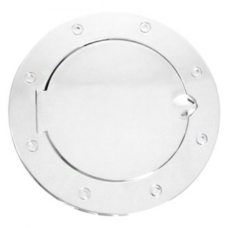 Rugged Ridge® - Polished Aluminum Non-Locking Gas Cap Cover