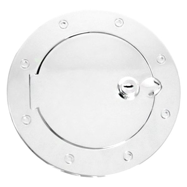 Rugged Ridge® - Gas Cap Cover, Locking, Chrome