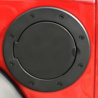 Rugged Ridge® - Non-Locking Gas Cap Door Black