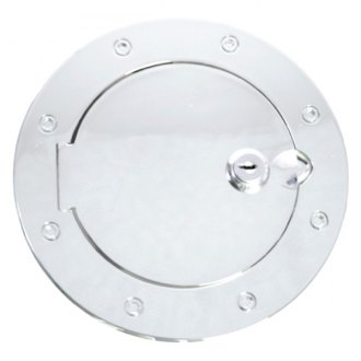 Rugged Ridge® - Polished Aluminum Locking Gas Cap Covers