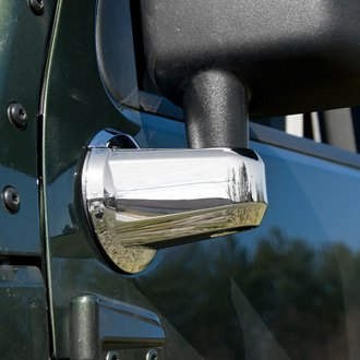 Rugged Ridge® - Chrome Mirror Arm Covers