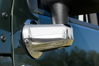 Rugged Ridge® 13311.02 - Chrome Mirror Arm Covers