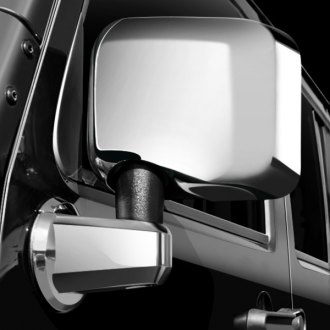 Rugged Ridge® - Chrome Mirror Head and Arm Covers