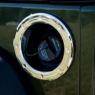 Rugged Ridge® - Chrome Fuel Filler Accent Trim