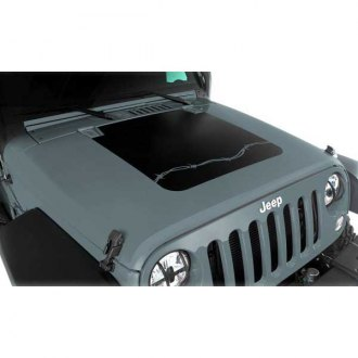 Rugged Ridge® - Barbed Wire Hood Decal