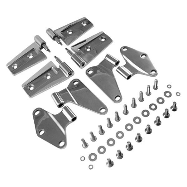 Rugged Ridge� - Door Hinge Kit, Stainless Steel