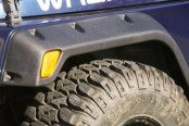 "Rugged Ridge® - 4.75"" All Terrain Front and Rear Black Fender Flare Kit"