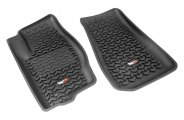 Rugged Ridge® 12920.28 - All Terrain Floor Liners (1st Row, Black)