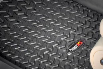 Rugged Ridge® 82902.08 - All Terrain 1st Row Black Floor Liners