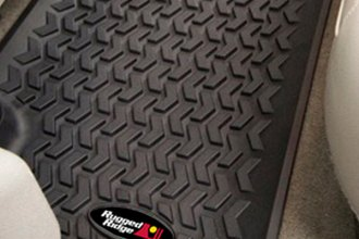 Rugged Ridge® 82951.10 - All Terrain 2nd Row Floor Liners, Black