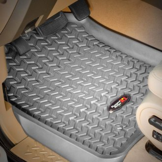 Rugged Ridge® - All Terrain 1st Row Gray Floor Liners