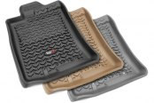 Image may not reflect your exact vehicle! Rugged Ridge® - All Terrain Floor Liners, 1st Row