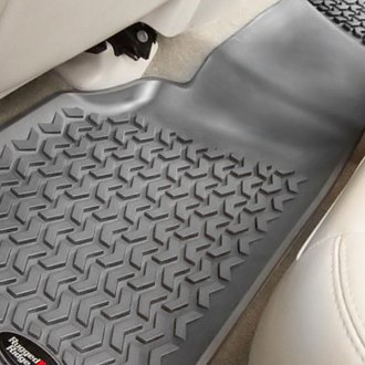 Image may not reflect your exact vehicle! Rugged Ridge® - Floor Liner