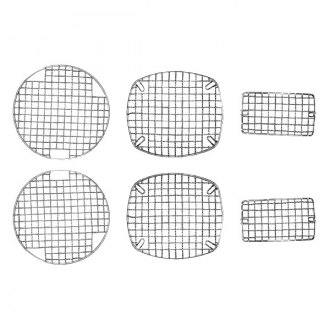 Rugged Ridge® - Mesh Style Stainless Steel Stone Guard Kit