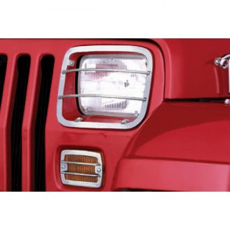 Rugged Ridge® - Euro Style Headlight And Turn Signal Guards