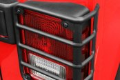 Rugged Ridge® - Euro Style Black Powdercoat Tail Light Guards