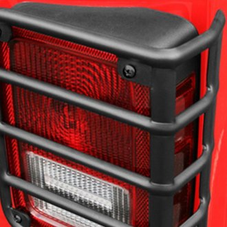 Rugged Ridge® - Euro Style Black Tail Light Guards