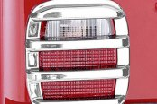 Rugged Ridge® - Tail Light Covers, Chrome