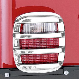 Rugged Ridge® - Tail Light Guards Chrome