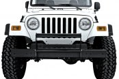 Rugged Ridge® - Gloss Black Push Bar