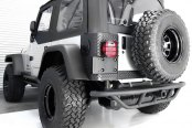 Rugged Ridge® - Body Armor Rear Corner Guard and Rear Tailgate Sill