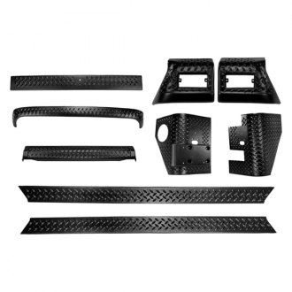 Rugged Ridge® - Body Armor 9-Piece Kit