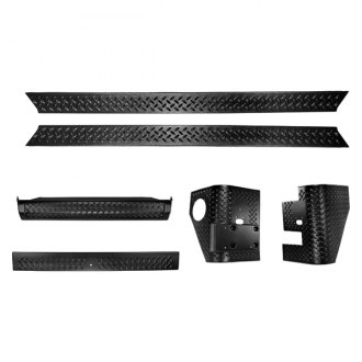 Rugged Ridge® - Body Armor 6-Piece Kit