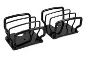 Rugged Ridge® - Black Powdercoat Tail Light Guards