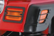 Rugged Ridge® - Black Powdercoat Turn Signal and Side Marker Guards
