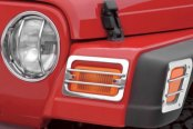 Rugged Ridge® - Stainless Steel Turn Signal and Side Marker Guards