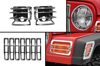Rugged Ridge® - Euro Style Light Guard Kit