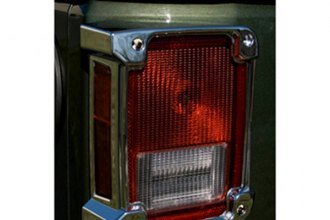 Rugged Ridge® - Chrome Tail Light Bezels