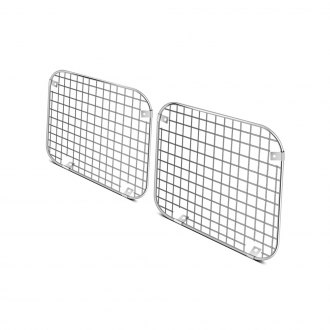 Rugged Ridge® - Mesh Style Polished Light Guard Kit