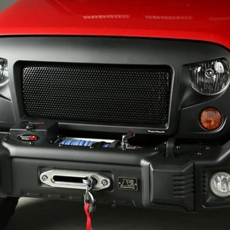 Rugged Ridge® - Front Spartan Black Grille