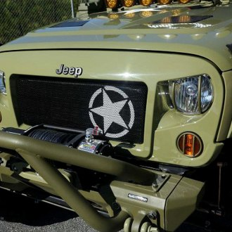 Rugged Ridge® - Spartan Military Star Grille