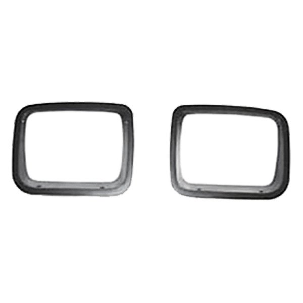 Rugged Ridge® - Headlight Bezels, Black