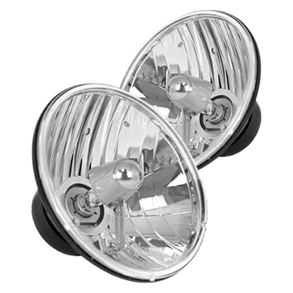 "Rugged Ridge® - Euro Chrome Replacement Headlight 7"" Round HB2/H4"