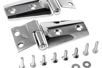 Rugged Ridge® - Stainless Steel Hood Hinge Kit