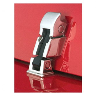 Rugged Ridge® - Cast Stainless Steel Hood Latches