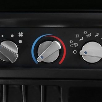 Rugged Ridge® - Billet Aluminum Climate Control Knob Set